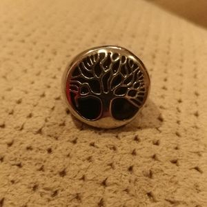 New stainless steel tree of life ring
